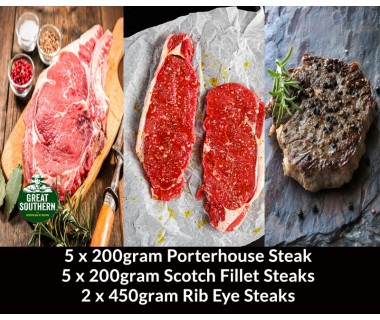 THE GREAT SOUTHERN STEAKS PACK
